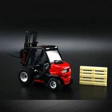 ROS 1/32 MANITOU MC18 модель инженерные автомобили игрушка сплав металлический вилочный погрузчик грузовик коллекционные игрушки автомобиль