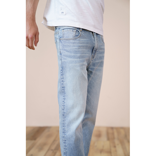Classic slim fit with laser washed color