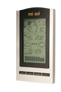 Image 3 - محطة الطقس اللاسلكية ، ترمومتر لاسلكي مع درجة الحرارة في الهواء الطلق والرطوبة الاستشعار شاشة الكريستال السائل ، مقياس الضغط