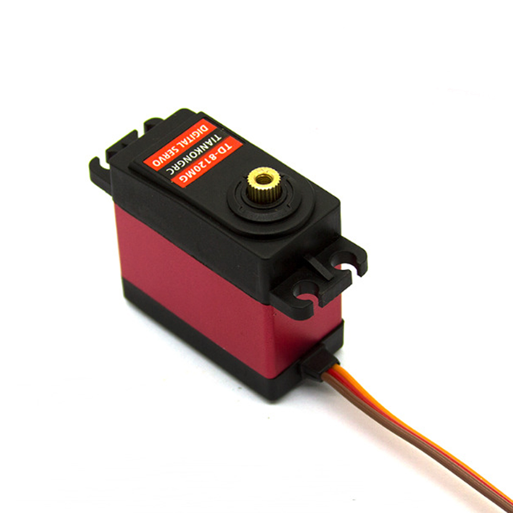 1x Waterproof Rc Servo 180 Angle And High Speed Metal Gear Digital Servo Baja Servo 20kg/.09s For 1/8 1/10 Scale Rc Car