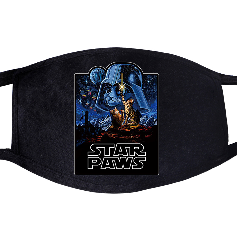 Dustproof Mouth Mask Face Darth Vader Jedi Join The Empire Unisex Reusable Anti Black Pollution Reusable Washable Masks