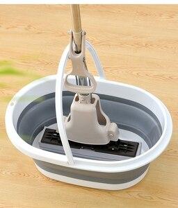 Image 5 - מתקפל פלסטיק דלי קמפינג לשטוף דלי עם ידית מתקפל רצפת סמרטוט ניקוי דיג רכב לשטוף דלי פריטים ביתיים