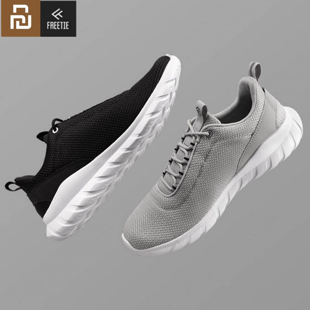 NEW Youpin FREETIE Sports Shoes Lightweight Ventilate Elastic Knitting Shoes Breathable Refreshing City Running Sneaker For Man