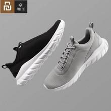 Yeni Youpin FREETIE spor ayakkabı hafif havalandırmak elastik örgü ayakkabı nefes ferahlatıcı şehir çalışan spor ayakkabı adam için