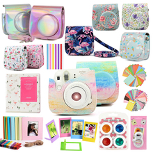 Fujifilm Instax Mini Case Bag Camera Accessories Kit Photo Album Lens Filters Stickers For Instax Mini 8 Mini 9 Instant Camera