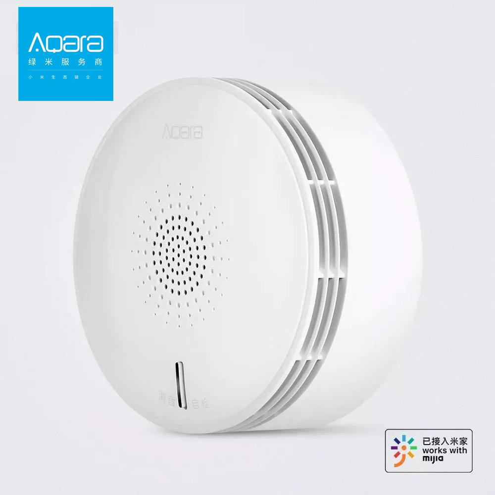 Aqara NB-IoT Smoke Sensor Security APP Remote Alarm Sound & Light Reminder Real-time Monitor Security Alarm System