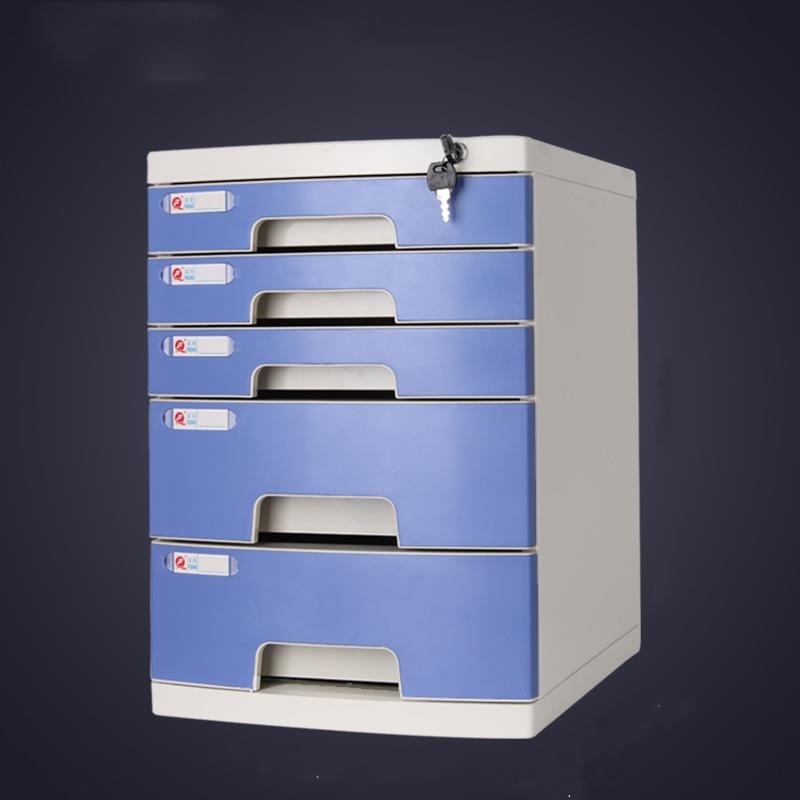 File Cabinet Drawer Office Multi-layer Cabinet Information Cabinet A4 Rack Desk Locker