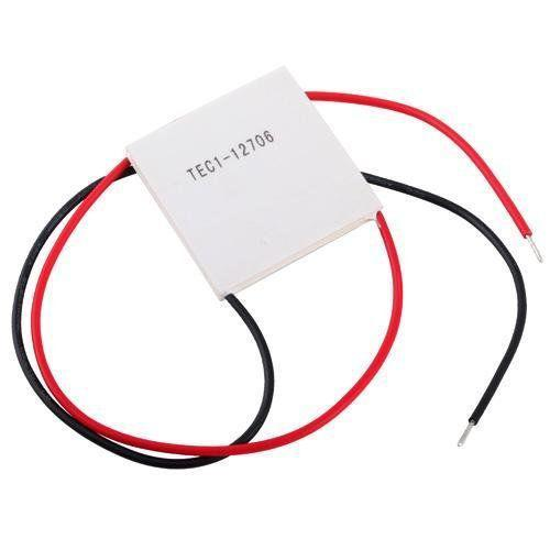 MeterMall 40*40 CM 60W 12V TEC1-12706 moduł peltiera do chłodzenia termoelektrycznego elementu