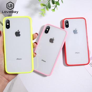 Lovebay przezroczysty odporny na wstrząsy futerał na telefon dla iPhone SE 2020 11 Pro Max X XR Xs Max miękki TPU przezroczysty futerał na iPhone 6 6s 7 8 Plus tanie i dobre opinie Aneks Skrzynki Transparent Shockproof Phone Case Apple iphone ów IPHONE XS MAX IPHONE 8 IPhone 7 Plus Iphone 6 plus IPHONE 6S