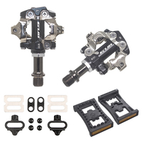 GUB PD M101 M520 Self Locking Clipless SPD mtb bike pedals Mountain Bicycle Padals With Original PD22 Cleats
