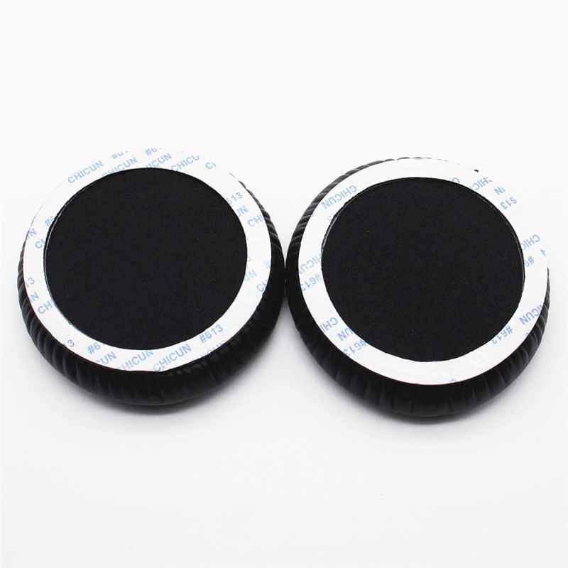 1 زوج سماعة بطانة للأذن وسادات الأذن الإسفنج لينة وسادة من اسفنج الفوم استبدال ل COWIN E7 / E7 برو نشط إلغاء الضوضاء سماعة