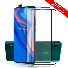 2pcs tempered glass screen protector for huawei p smart z protective glasses on