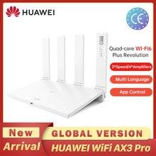 Wifi velocidade revolução global versão huawei ax3 roteador quad core wifi 6 + roteador 3000 mbps tap para conectar fácil configurar