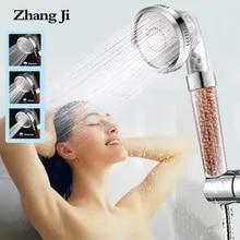 Nozzle ANION-FILTER Shower-Head Adjustable Bathroom Saving-Water Zhangji High-Pressure