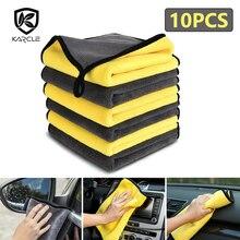 3/5/10pcs 800GSM Car Detailing Cloth Car Wash Microfiber Towel Car Cleaning Drying Cloth Care Car WashTowel Never Scrat 30*30/60