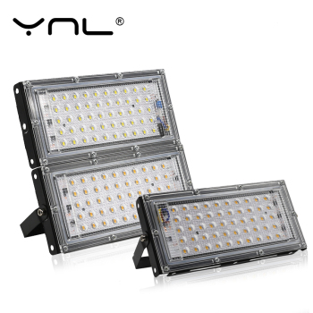 50W LED Flood Light Outdoor Lighting 220V 240V Floodlight Waterproof IP65 Reflector Projecteur LED Exterieur Focus Spotlight 1