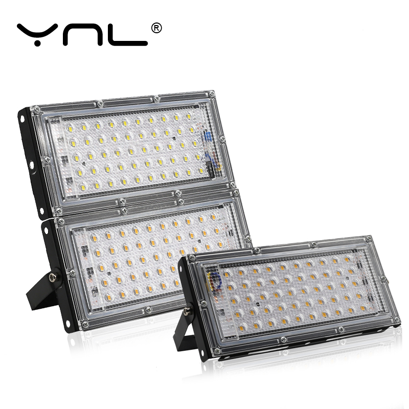 50W LED Flood Light Outdoor Lighting 220V 240V Floodlight Waterproof IP65 Reflector Projecteur LED Exterieur Focus Spotlight
