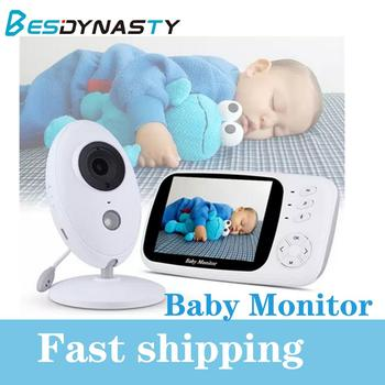 EX808 Baby Monitor 3.5 inch Wireless Video Camera Night vision Baby Sleep Nanny Security Temperature Monitoring LCD Baby Camera