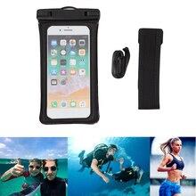 IPX8 Waterproof Phone Bag Underwater TPU Touch Screen Mobile