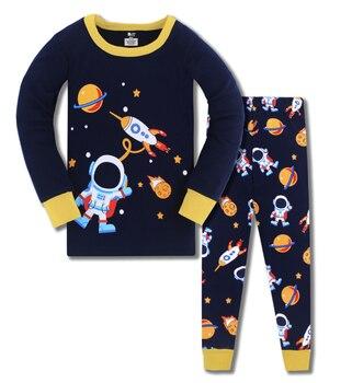 2020 pijamas para niños, ropa de invierno para bebés, pijamas de dulces sueños, camiseta de manga larga con dibujos animados para bebés y niños, pantalones 2 uds