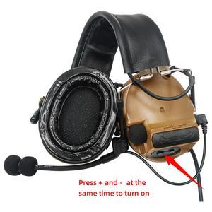 Image 4 - COMTAC III orejeras de silicona TAC SKY COMTAC comtaciii, para deportes al aire libre, reducción de ruido, pastilla, auriculares militares para tiro, C3CB