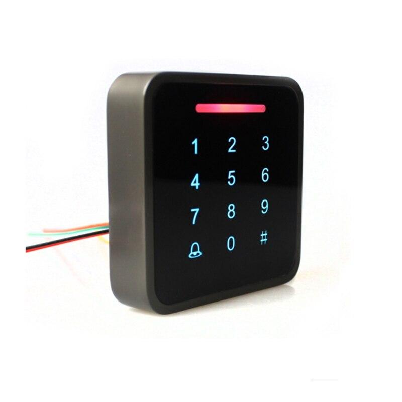 GALO ID 125Khz IC 13.56Mhz code d'accès d'empreintes digitales en métal accès au lecteur de carte Wiegand indépendant