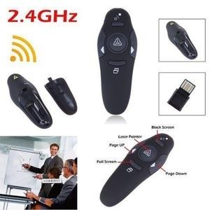Image 2 - 2.4 2.4ghz の Usb ワイヤレスプレゼンター Pc 赤色レーザーペンポインター Ppt リモコンとハンドヘルドポインタープレゼンテーションのための
