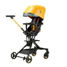 Magic Luxury Baby Stroller Two-way High Landscape Trolley Can Sit and Lie Fold Pram Ride On Walker Light Weight Stroller