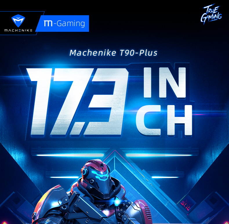 Machenike T90-PLus gaming laptop 2020 i7 10750H RTX 2060 6G 17.3 inches screen 144Hz Ultra border Intel notebook gaming copmuter