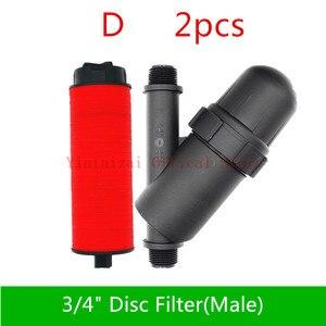 """Image 3 - Szybka wysyłka filtr dysku filtr ekranu 3/4 """"1"""" 2 """"stos filtr ogrodnictwo filtr ekranu nawadniania kropelkowego pompa zbiornika mikro podlewanie"""
