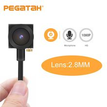 كاميرا فائقة المصغر 1080P 720p HD AHD 2MP 0.1 lux منخفضة الإضاءة كاميرا مراقبة CCTV مع عدسة Sony 322 وإخراج الصوت