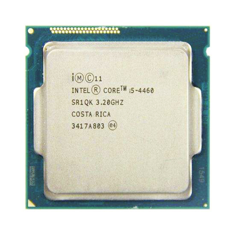 Intel Core I5 4460 Quad Core 3.2GHz 4 Core 4 Threads 6MB 5GT/s LGA 1150 CPU Processor