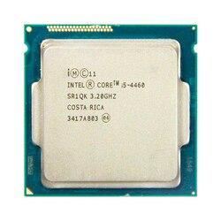 Intel core i5 4460 quad core 3.2 ghz 4 núcleo 4 threads 6 mb 5gt/s processador cpu lga 1150