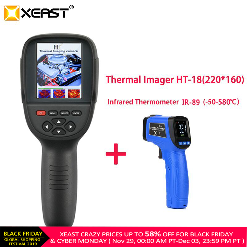 XEAST Imaging-Camera Thermal-Imager HT-18 Handheld High-Resolution Portable 220--160