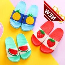 Summer Baby Kids Girls Boys Girls Slippers Toddler Water Children Flip Flops Barefoot Child Fruit Home Shoes For Kids Baby цена 2017