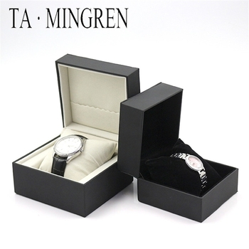 New high-end fashion watch display jewelry box PU leather storage Valentines Day gift explosion models can be customized