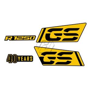 Image 3 - 오토바이 R 1250 GS 로고 스티커 Nib 종이 스티커 액세서리 BMW R1250GS 모험에 대 한 방수 2017 2021 2018 2019 2020