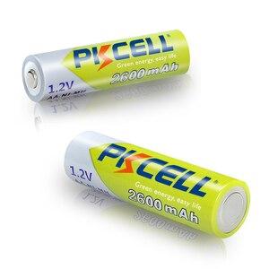 Image 5 - 10 قطعة PKCELL ni mh AA بطاريات 2300mAh 2600mAh 1.2V NiMh AA بطارية قابلة للشحن 2A Batteria خلية ل مشاعل كاميرا اللعب