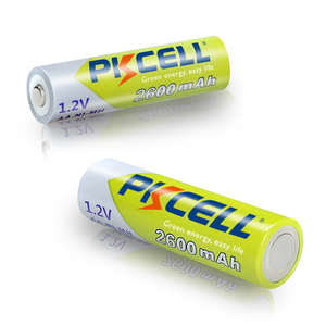 Image 5 - 10Pcs PKCELL Ni Mh AA Batterien 2300mAh 2600mAh 1,2 V NiMh AA Akku 2A Batteria Zelle für Taschenlampen Kamera Spielzeug