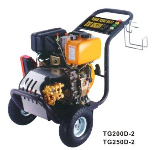 TG200D-2/TG250D-2 Industrial High Pressure All Copper Plunger Pump Gasoline Engine Washing Machine