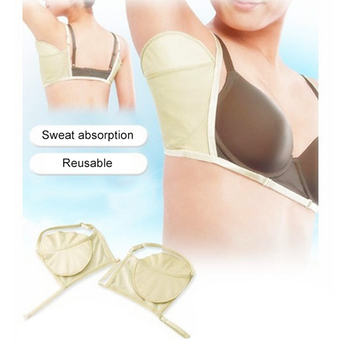 1 Pair Washable Deodorant Underarm Sweat Pads Shield Perspiration Absorbing Pads