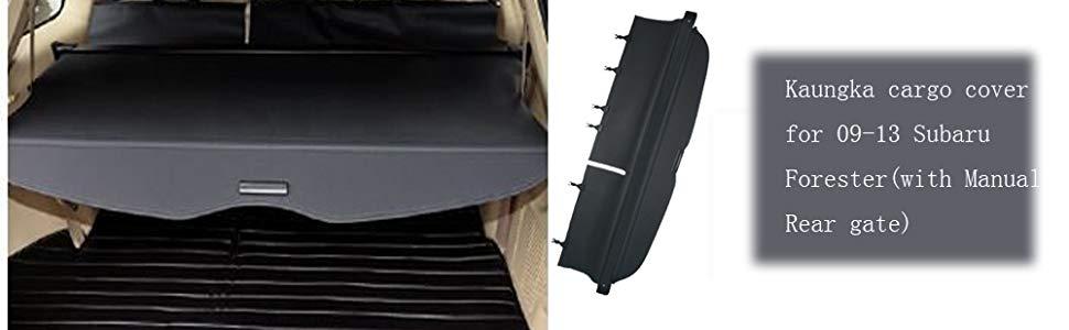 Kaungka Cargo Cover Retractable Compatible with 09-13 SubAru ...