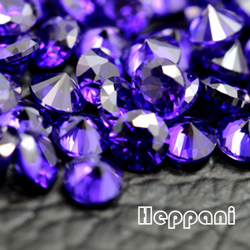 Free Shipping 150pc/pack Purple Cubic Zirconia Oxide Stone 0.8mm - 3mm DIY Round Nature Zirconium Oxide For Jewelry, Ornament