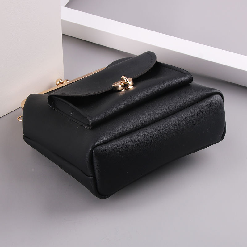 women`s handbags pu leather kiss lock shell bags (9)