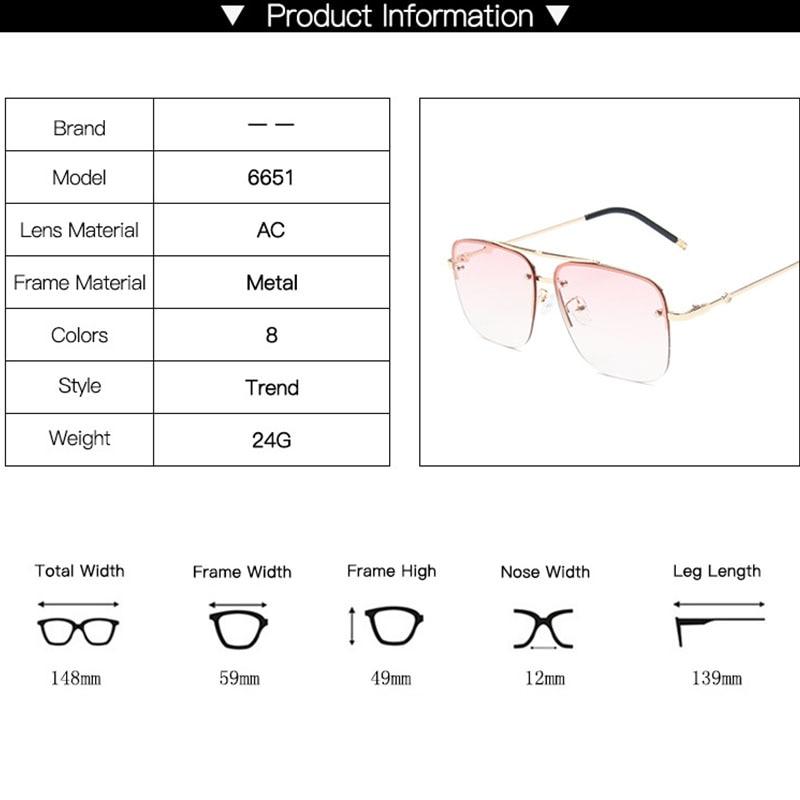 Square Sunglasses Women UV400 High Quality 2020 Fashion Large Frame Brand Sun Glasses Shades For Women okulary przeciwsloneczne
