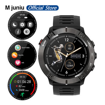 MC01 Sport Smart Watch 2020 IP68 waterproof Multi-sport mode heart rate monitoring Watch for Android ios system PK Fenix 6X