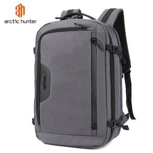 Image 1 - ARCTIC HUNTER New MenS Backpacks Bag USB charging High Quality Large capacity Laptop Notebook Mochila Waterproof Backpack Male