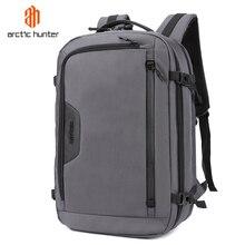 ARCTIC HUNTER nowe męskie plecaki torba USB ładowanie wysokiej jakości duża pojemność Laptop Notebook Mochila wodoodporny plecak męski