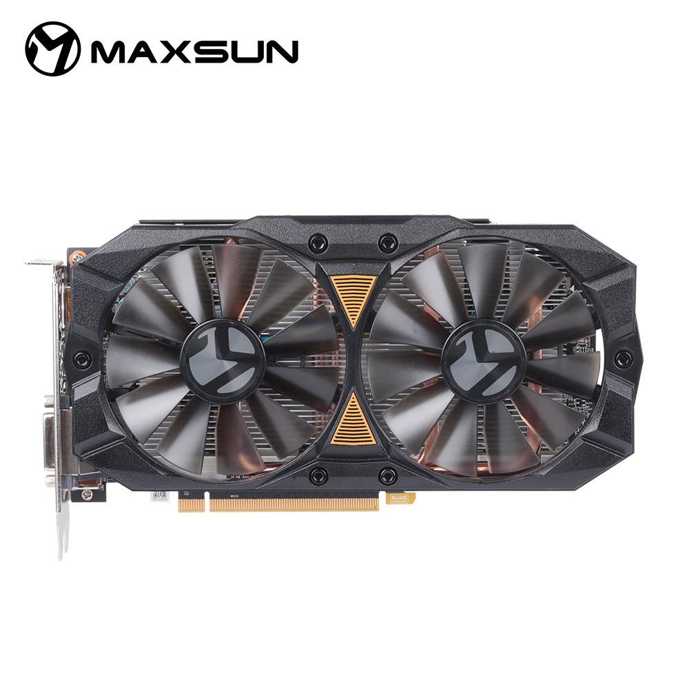 MAXSUN Radeon <font><b>RX</b></font> <font><b>580</b></font> 2048sp 8G PLUS <font><b>GDDR5</b></font> 256-Bit <font><b>GDDR5</b></font> Graphics Cards image