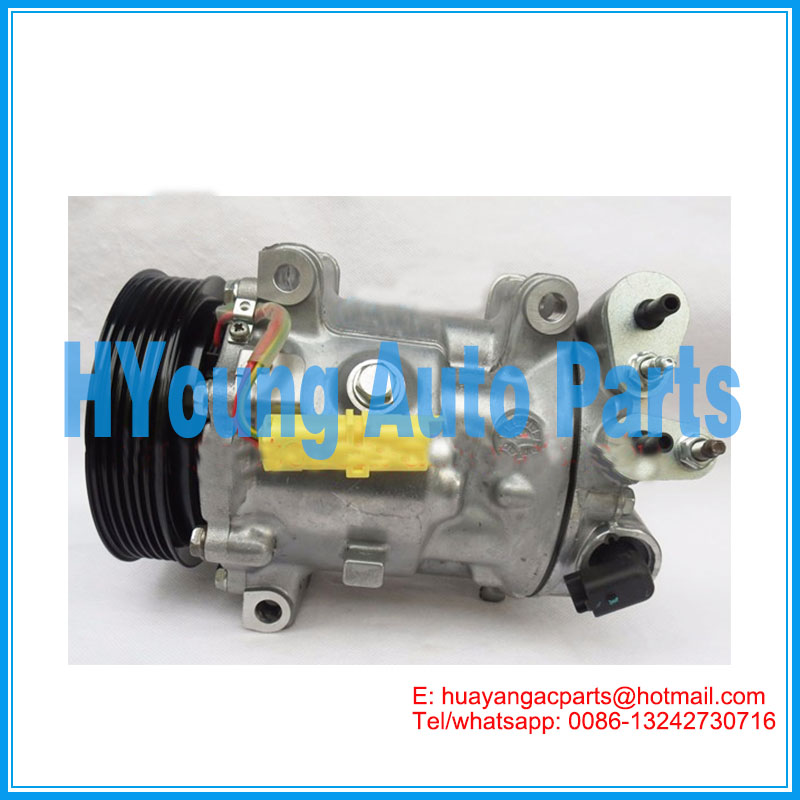 SD7C16 1300 otomatik hava con kompresör Citroen C5 Peugeot 607 407 6453 PM 6453PN 9648138680 765844
